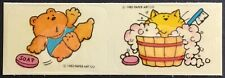 Vintage Scratch & Sniff Stickers - Paper Art - Soap - Dated 1983