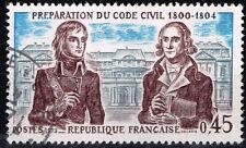 France Napoleonic Wars Civil Code Preparation stamp 1973