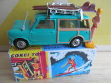 Corgi BMC Mini Countryman Surfing Traveller with REPRODUCTION BOX