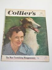Collier's Magazine- The Most Tanatalizing Disappearance- July 29, 1950