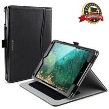 CLAYCO iPad 9.7 2017 [Slim Fit] [Multi-Angle]  Smart PU Leather Cover