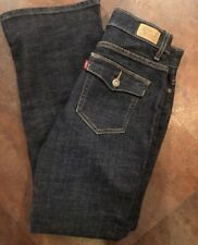 Women's LEVI'S Boot Cut 512 Perfectly Slimming Flap Pocket Jeans Size 10
