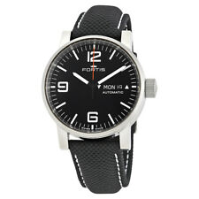 Fortis Spacematic Automatic Black Dial Mens Watch 623.10.18LP.01