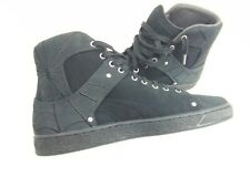 Puma En Noir X Suede Leather Classic Black Men's size 9.5 Shoes #366319 01.RARE!