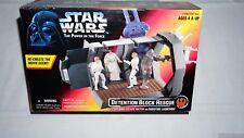 Star Wars POTF Death Star DETENTION BLOCK RESCUE Escape Playset