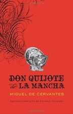 Don Quijote de la Mancha (Spanish Edition) by Miguel Cervantes