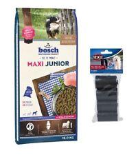 15kg Bosch Junior Maxi Hundefutter + 80 Stk. Kotbeutel