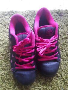 Adio Black Pink Trainers 7.5