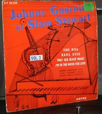 Jonny Guarnieri et Slam Stewart / fire bird / EP  / piano / jazz vol 2 savoy