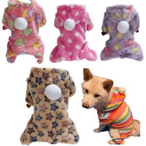 Yorkie Shih Tzu Tiny Chihuahua Pajamas PJ's Dog Puppy Pet Sleepwear XS S M