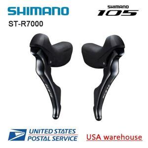Shimano 105 STI ST-R7000 2x11 speed Shift Brake Levers Dual Control L&R w/Cable