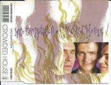 CROWDED HOUSE - Into temptation CD MAXI 3TR 1988 HOLLAND RELEASE!!