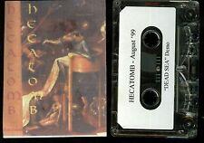 Hecatomb Dead Sea Demo 1999 Cassette Tape Melodic Death Metal Milwaukee WI
