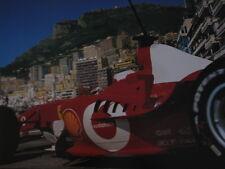 Poster Ferrari F2003-GA 2003 #1 Michael Schumacher (GER) Monaco