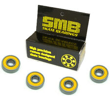 High Speed, Low Friction SMB Precision Skate Bearings (4 bearings)