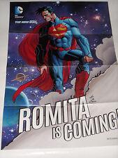 WONDERCON 2014  NEW 52 DC Comics SUPERMAN Promo Poster ROMITA IS COMING