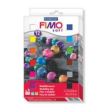 [1kg=29,67] FIMO soft ofenhärtende Modelliermasse 12 x 25g Materialpackung
