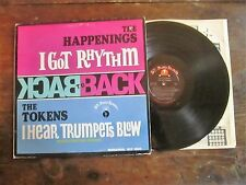 The Happenings/The Tokens - Back to Back LP BT Puppy Mono BTP 1002 VG+