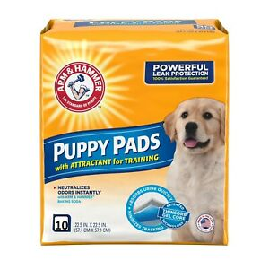 Arm & Hammer Dog Pads 10 ct. w/ Attractant for Training Gel Core