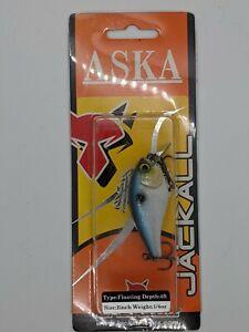 Jackall Aska 50SR Squarebill NEW circuit board lip