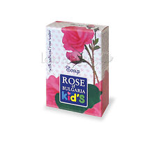 ROSE OF BULGARIA NATURAL SOAP FOR KIDS WITH BULGARIAN ROSE WATER