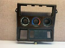 BMW Z3 CONVERTIBLE RADIO CLIMATE CONTROL COVER TRIM WOOD BEZEL OEM