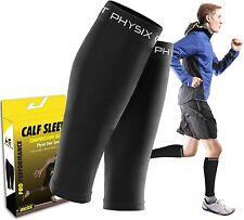 Calf Compression Sleeve for Men & Women, Best Footless Socks for Shin Splints &