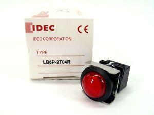 IDEC LB6P-2T04R LED Single Color Indicator RED