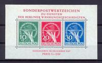 Berlin Block 1 Währungsgeschädigte postfrisch (cs117)