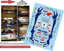 DÉCALS 1/18 réf 445 PEUGEOT 306 Maxi  Pascal Enjolras Cevennes  2001