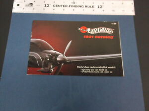 COLLECTIBLE 1991 GREAT PLANES R/C MODEL PLANE & ACCESSORIES CATALOG  *G-COND*