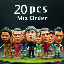 "20pcs/lot Soccer Football Basketball 2.5"" Action Doll&model&Dolls Figurine"