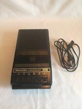 NOS Sharp Cassette Recorder RD-621 Power Cord Included & Original Box