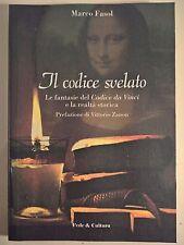 LIBRO MARCO FASOL - IL CODICE DA VINCI SVELATO - FEDE E CULTURA 2006