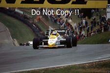 Keke Rosberg Williams FW09B British Grand Prix 1984 Photograph 1