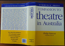 Companion to Theatre in Australia - Philip Parsons - HBDJ - 1995 - 1st Ed