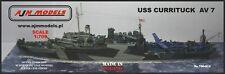 AJM Models 1/700 USS Currituck - AV - 7 seaplanes tender