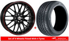 Aluminium Calibre Wheels with Tyres 8 Number of Studs