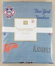 Pottery Barn PB Teen Major League Baseball FULL-QUEEN Duvet Cover MLB