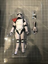 "STAR WARS BLACK SERIES EXCLUSIVE FIRST ORDER STORMTROOPER OFFICER 6"" SCALE LOOSE"