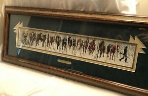 Two Indian Horses By Bev Doolittle, Beautifully framed with Artist's plaque