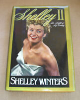 """Shelley II, """"The Middle of my Century, Shelley Winters, 1st edition, HBDJ, 1989"""