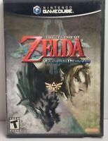 Legend of Zelda: Twilight Princess (GameCube, 2006) - Complete