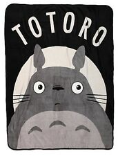 Studio Ghibli My Neighbor Totoro Face Super Soft Throw Blanket