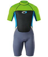 Mens Osprey Origin 3/2mm UltraFlex Neoprene Wetsuit Shorty Wet Suit Shortie