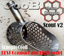 Beach Sand Scoop Small CooB *Scout V2* Stainless Steel Hunting Detector Tool