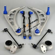 FOR BMW 3 SERIES E46 FRONT LOWER SUSPENSION WISHBONE ARMS, BUSHES & LINKS KIT