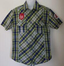 Wrangler western style embellished plaid mens size XL EUC