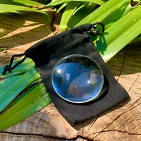 TRADITIONAL 50MM GLASS MAGNIFYING LENS BUSHCRAFT SOLAR FIRELIGHTING EDC