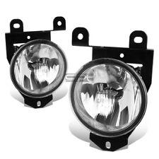 Fit 01-07 Gmc Sierra/Yukon Denali C3 Crystal Lens Oe Bumper Driving Fog Light